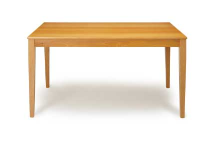 hard wood table